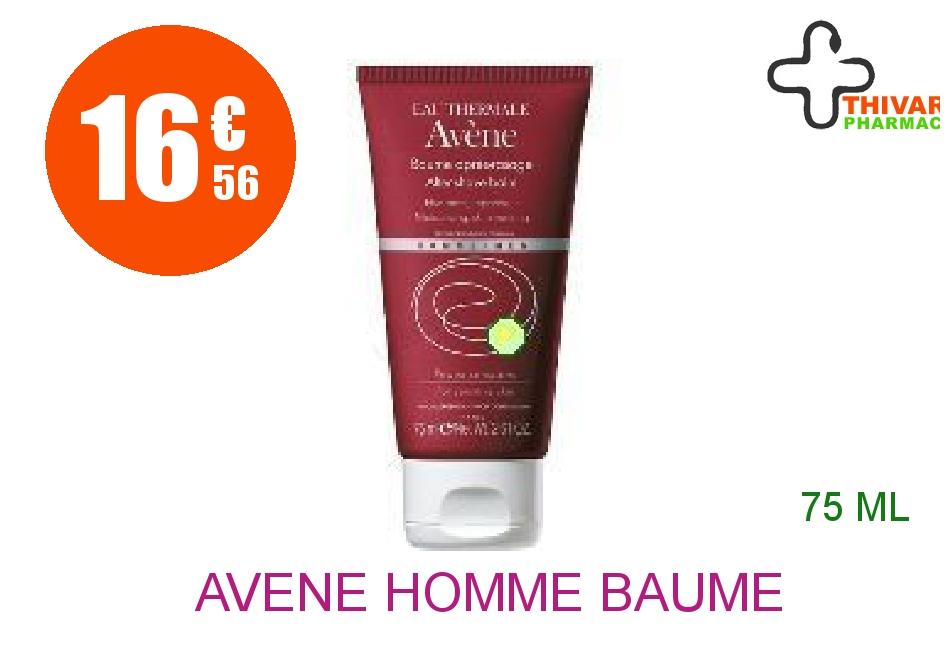 Achetez AVENE HOMME Baume après-rasage MEN Tube de 75ml