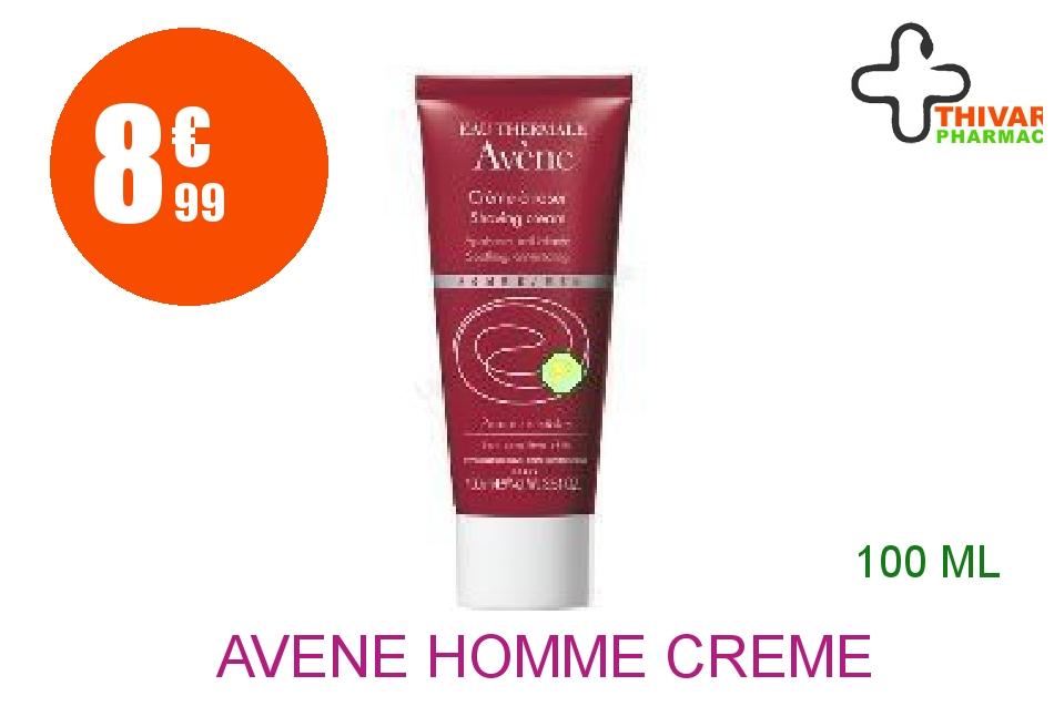 Achetez AVENE HOMME Crème à raser MEN Tube de 100ml