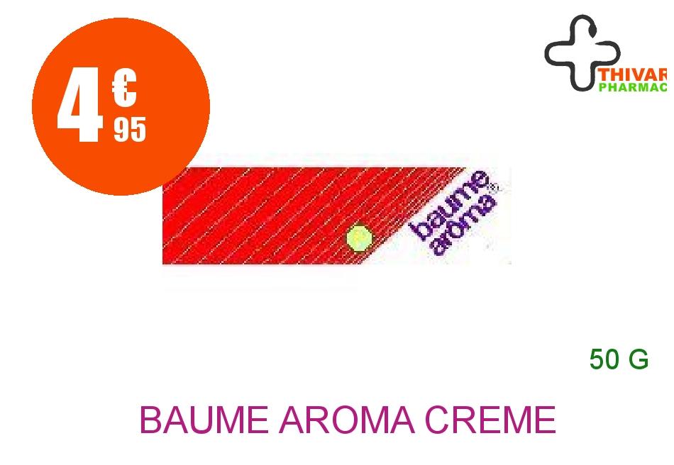 Achetez BAUME AROMA Crème Tube de 50g