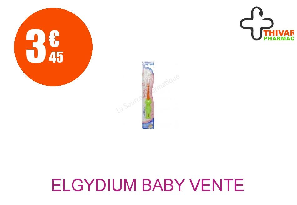 Achetez ELGYDIUM BABY VENTE Brosse dents avec protège-tête et socle