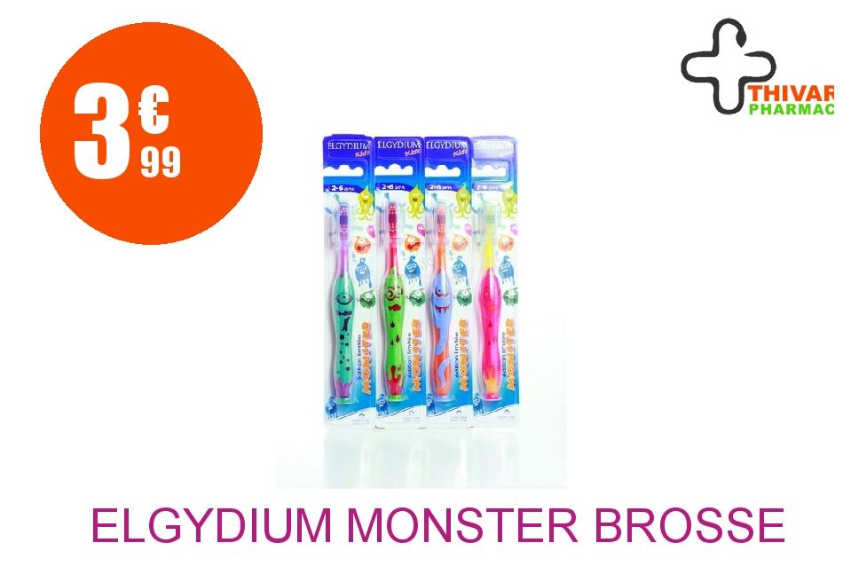 Achetez ELGYDIUM MONSTER Brosse dents 2/6 Ans