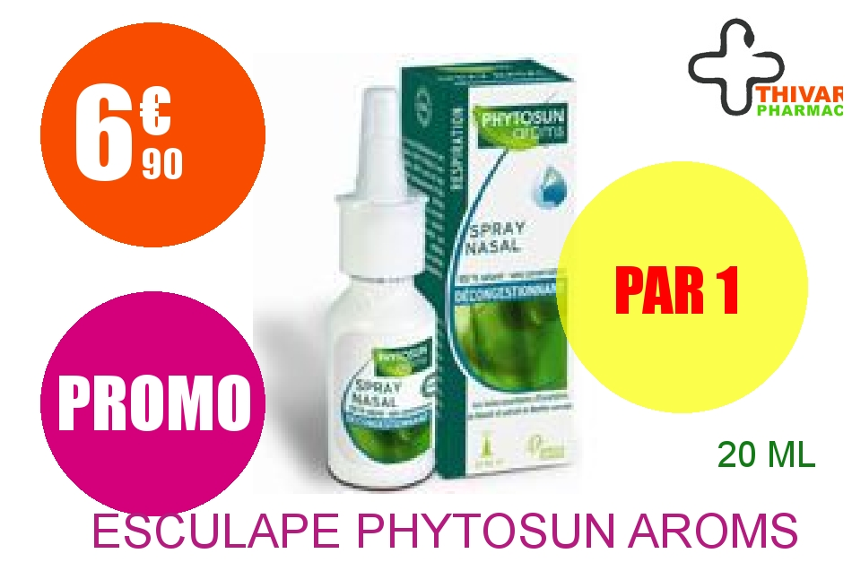 ESCULAPE PHYTOSUN AROMS Spray nasal 20ml