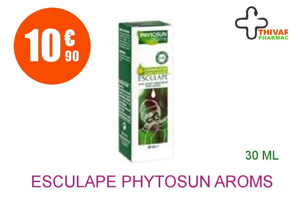 Achetez ESCULAPE PHYTOSUN AROMS Lot complexe respiration Flacon de 30ml