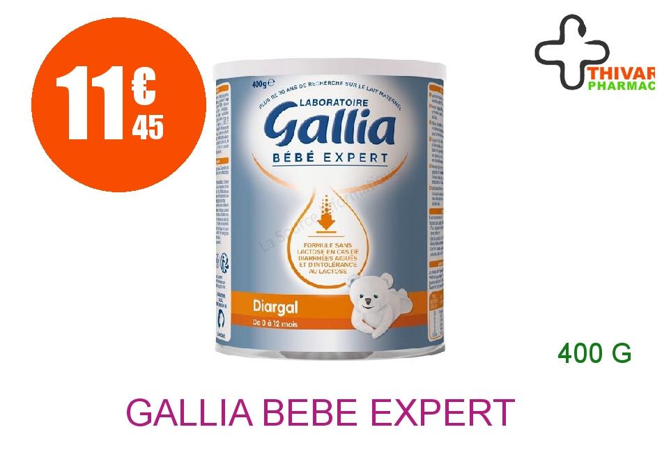 Achetez GALLIA BEBE EXPERT DIARGAL Aliment Infantile substitution du lait Boîte de 400g