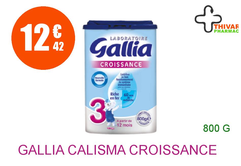 Achetez GALLIA CALISMA CROISSANCE Lait Poudre Boîte de 800g
