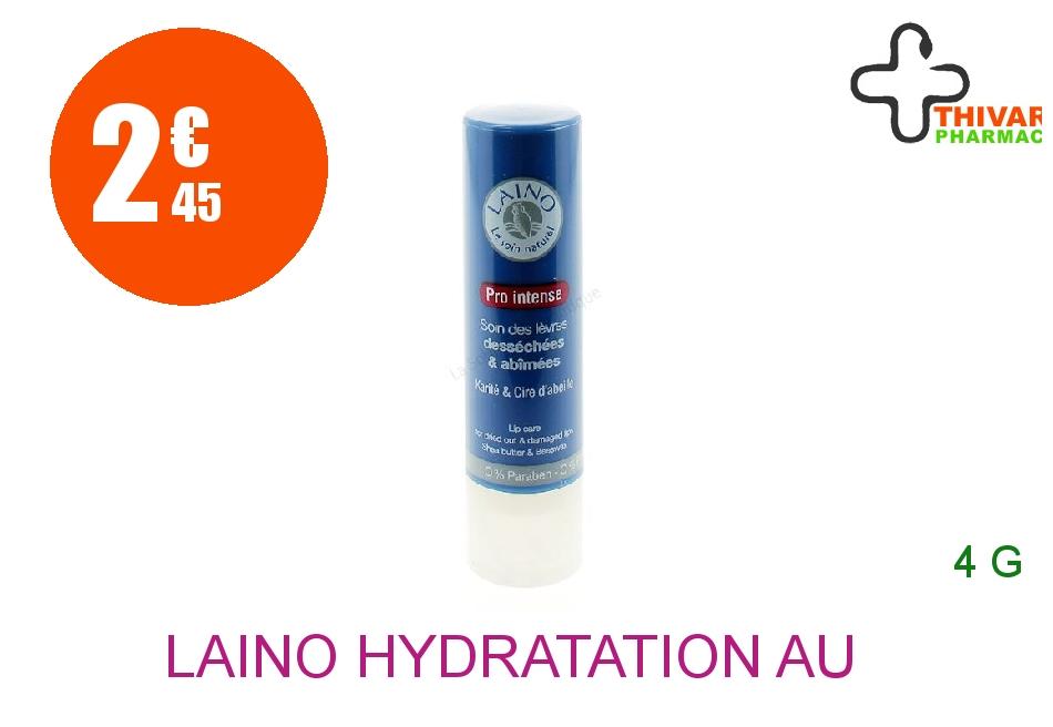 Achetez LAINO HYDRATATION AU NATUREL Stick lèvres Pro intense Etui de 4g