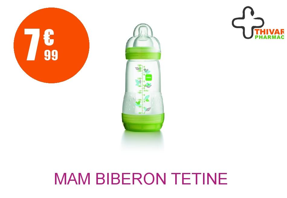 Achetez MAM Biberon tétine débit 2 africa vert 260ml