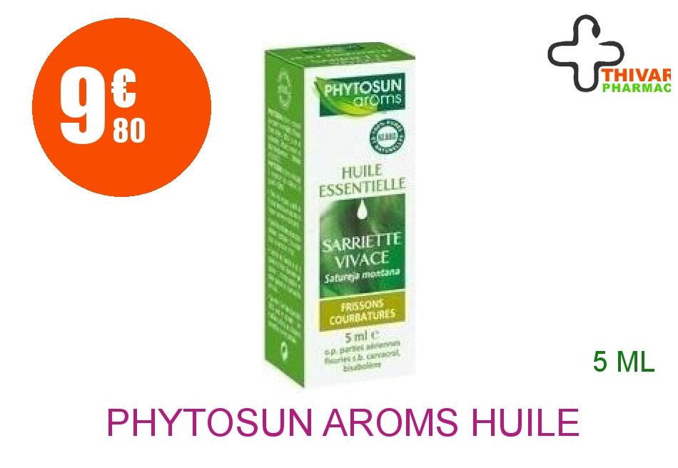 Achetez PHYTOSUN AROMS Huile essentielle Sarriette Flacon de 5ml