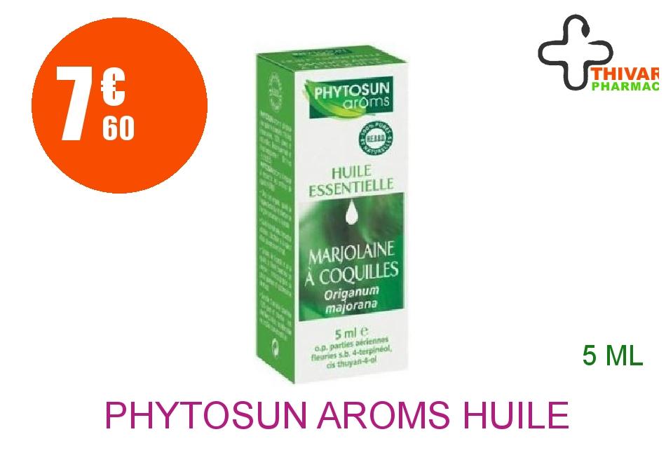 Achetez PHYTOSUN AROMS Huile essentielle Marjolaine Flacon de 5ml