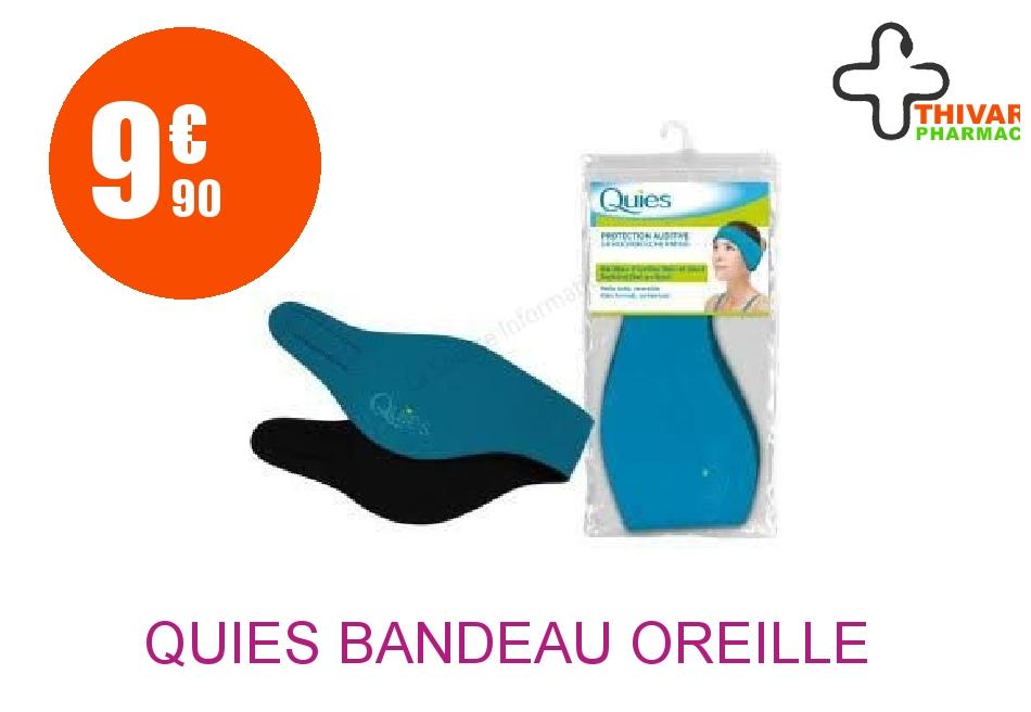 Achetez QUIES Bandeau d'oreille néoprène bleu PM