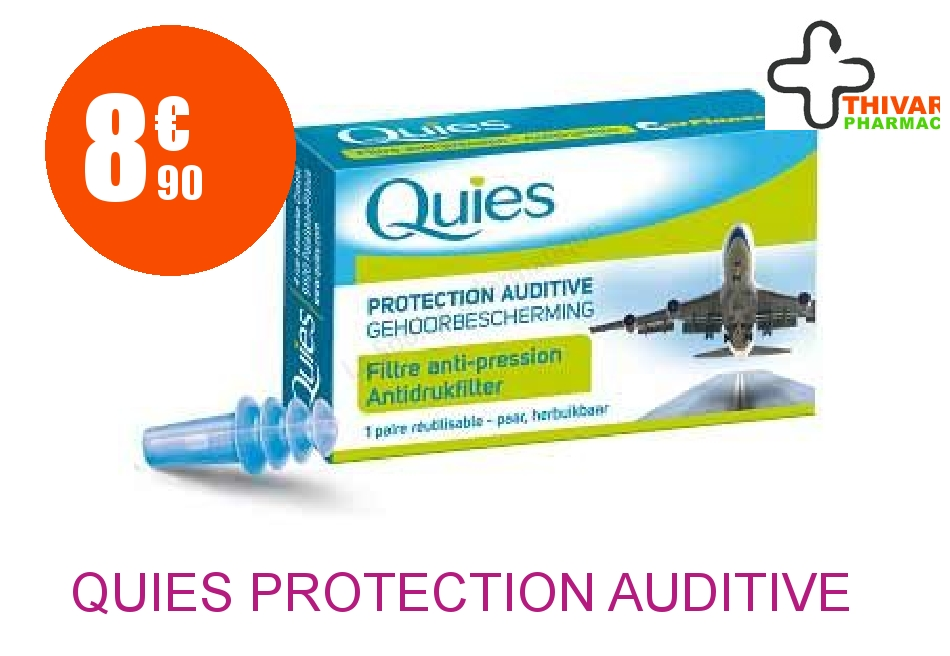 Achetez QUIES Protection auditive avion adulte Boîte de 2