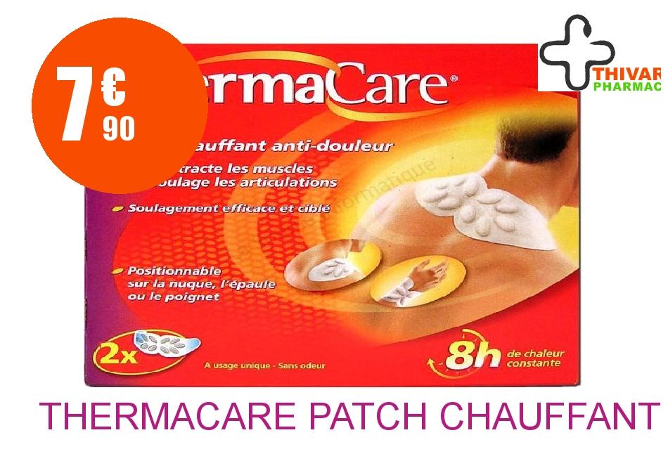 Achetez THERMACARE Patch chauffant nuque épaule poignet Boîte de 2