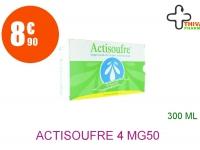 ACTISOUFRE 4 mg/50 mg par 10 ml Suspension Buvable et Nasale 30 Ampoule de 10ml