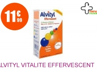 ALVITYL VITALITE EFFERVESCENT Comprimé Effervescent Boîte de 30