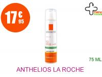 ANTHELIOS LA ROCHE POSAY SPF50+ Brume fraîche anti-brillance visage avec parfum Aérosol de 75ml