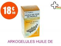 ARKOGELULES Huile de foie de morue Capsule Flacon de 220