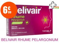 BELIVAIR RHUME PELARGONIUM Comprimé Pelliculé Plaquette de 15