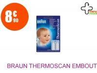 BRAUN THERMOSCAN Embout jetable 2 Boîte de 20