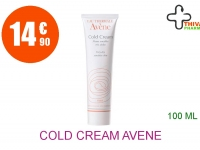 COLD CREAM AVENE Crème visage Tube de 100ml