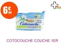 COTOCOUCHE Couche 1er âge Paquet de 30