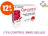CYS-CONTROL 36mg Gélule Boîte de 20