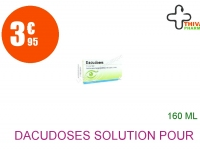 DACUDOSES Solution pour Lavage Ophtalmique en récipient unidose 16 Unidose de 10ml