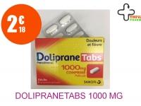 DOLIPRANETABS 1000 mg Comprimé Pelliculé Plaquette de 8