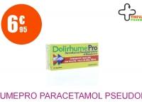 DOLIRHUMEPRO PARACETAMOL, PSEUDOEPHEDRINE ET DOXYLAMINE Comprimé Plaquette de 16
