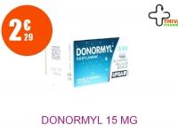 DONORMYL 15 mg Comprimé Pelliculé Sécable Tube de 10