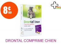 DRONTAL Comprimé chien Boîte de 2