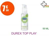DUREX TOP PLAY Gel lubrifiant extra douceur Tube de 50ml