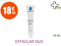 EFFACLAR DUO + SPF30 Crème soin anti-imperfections marques récidive UV Tube de 40ml