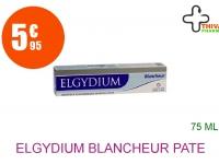 ELGYDIUM BLANCHEUR Pâte dentifrice anti-tache Tube de 75ml