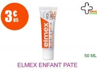 ELMEX ENFANT Pâte dentifrice dent de lait Tube de 50ml
