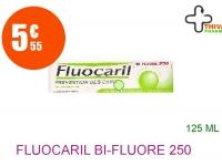 FLUOCARIL bi-fluoré 250 mg Pâte dentifrice menthe Tube de 125ml