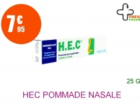 HEC Pommade Nasale et Cutanée Tube de 25g