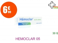 HEMOCLAR 0,5 % Crème Tube de 30g