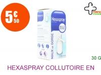 HEXASPRAY Collutoire en flacon pressurisé Flacon de 30g