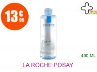 LA ROCHE POSAY Eau micellaire ultra peaux réactives Flacon de 400ml