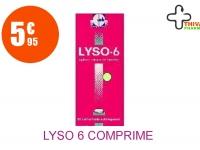LYSO 6 Comprimé Sublingual 3 Plaquette de 10