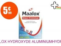 MAALOX HYDROXYDE D'ALUMINIUM/HYDROXYDE DE MAGNESIUM 460 mg/400 mg Suspension Buvable maux d'estomac en sachet 20 Sachet