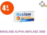 MAXILASE ALPHA-AMYLASE 3000 U CEIP Comprimé Enrobé maux de gorge Plaquette de 30