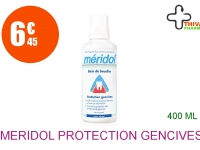 MERIDOL PROTECTION GENCIVES Bain bouche sans alcool Flacon de 400ml