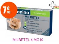 MILBETEL 4 mg/10 mg Comprimé chat Boîte de 2