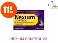 NEXIUM CONTROL 20 mg Comprimé Gastro-Résistant Plaquette de 14