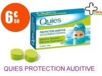 QUIES Protection auditive standard Boîte de 3 Paires