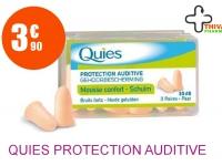 QUIES Protection auditive mousse chair Boîte de 6