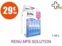 RENU MPS Solution Lentilles souple multifonction 4 Flacon de 360ml