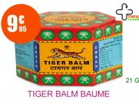 TIGER BALM Baume du tigre extra fort rouge Pot de 21g