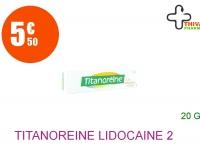 TITANOREINE lidocaïne 2 % Crème Tube de 20g